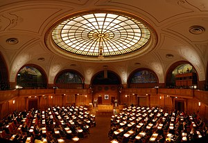 Right Livelihood Award - The award ceremony in the Riksdag of Sweden in 2009