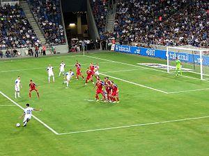Andorra national football team - Against Israel in 2015.