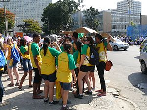 World Youth Day 2013 - Pilgrims in Rio