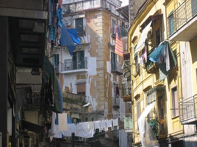 Rione Sanita - Ein Stadtteil in Neapel