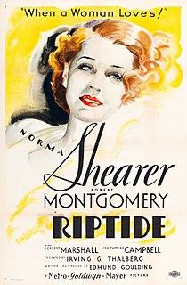 <i>Riptide</i> (film) 1934 American romance film directed by Edmund Goulding