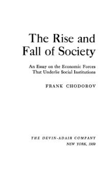 Rise and Fall of Society.djvu