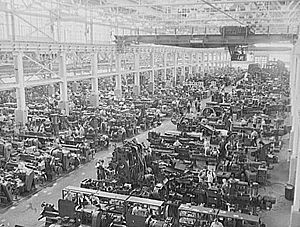 Great Lakes region - Ford's River Rouge assembly plant 1941