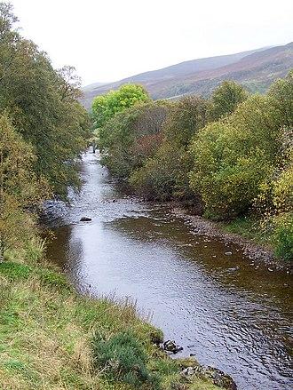 River Isla, Perthshire - Image: River isla little forter
