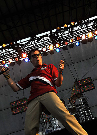 Rivers Cuomo - Cuomo performing in 2010