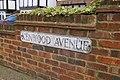 Road sign, Kenwood Avenue, London N14 - geograph.org.uk - 860199.jpg
