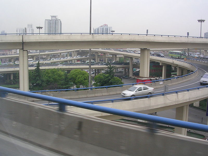 File:Roads in Shanghai.JPG