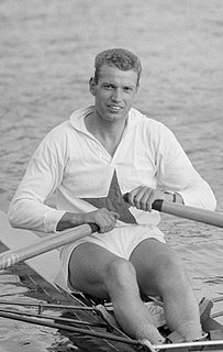 Rob Groen Dutch rower
