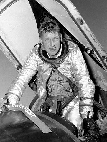 NASA test pilot Robert A. Rushworth, in the cockpit of an X-15 Source: Wikipedia 363px-Robert_A._Rushworth.jpg