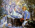 Robert Antoine Pinchon, Le Baquet, oil on canvas, 81 x 100 cm..jpg