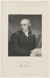 18th/199th-century English clergyman and philologist