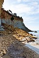 Rockfall at Gerakas beach Zakynthos Greece (32598522868).jpg