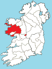 Roman Catholic Diocese of Tuam map.png