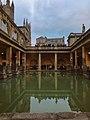 Roman baths in Bath, England.jpg