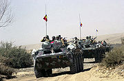 Romanian TAB-77 Armored Personnel Carriers in Afghanistan