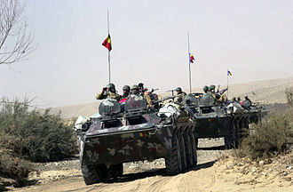 BTR-70 - Romanian TAB-77 Armored Personnel Carriers in Afghanistan