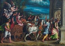 Giulio Romano: Triumph of Titus and Vespasian