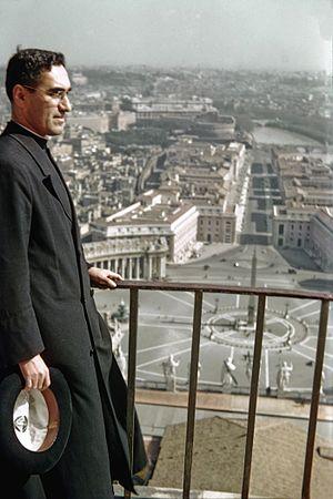 Óscar Romero - Romero in 1942 at the Vatican