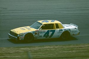 Ron Bouchard - 1985 racecar