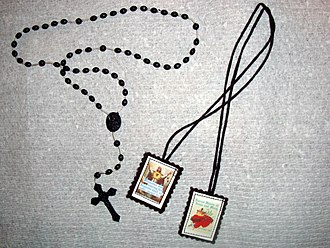 Rosary and scapular - Rosary and scapular