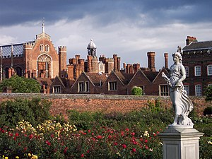 Rose Garden in Hampton Court.jpg