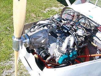 Rotax 912 - Image: Rotax 912SEngine Installation Merlin