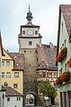 Rothenburg ob der Tauber, Stadtbefestigung, Weißer Turm-20121030-006.jpg