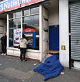 Rough sleeping, Tottenham High Road.jpg