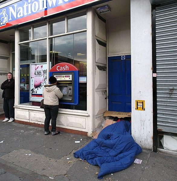 File:Rough sleeping, Tottenham High Road.jpg