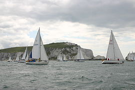 Round the Island Race 2009 off The Needles