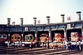 Roundhouse with locomotives in Changhua 01.jpg