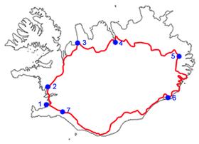 Route  Islande Incontorunable