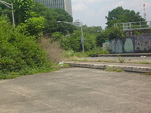 New Jersey Route 58 - Route 58 stub near Interstate 280 in Newark