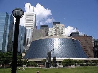 Toronto Theatre District - Image: Roy thomson hall