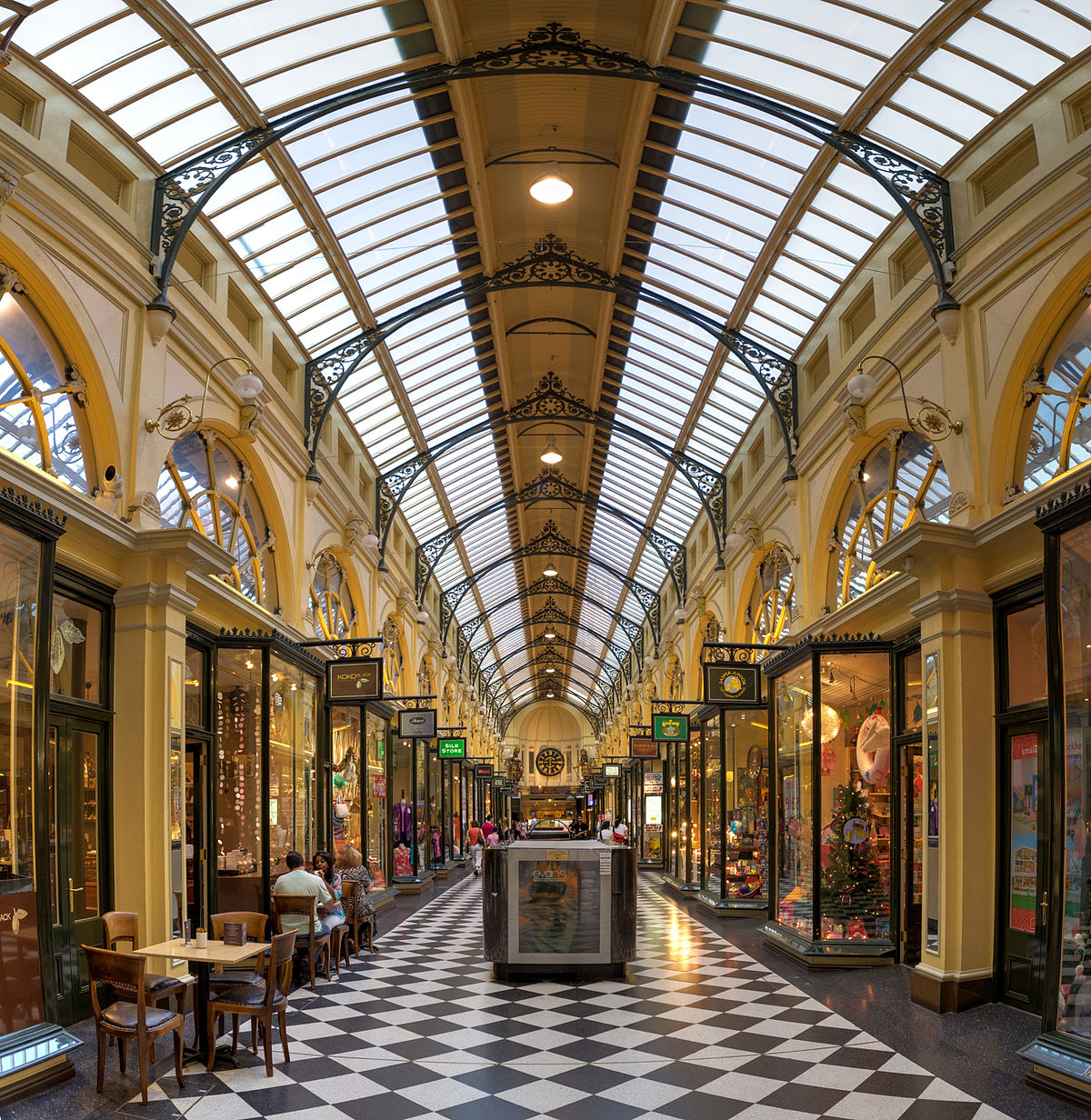 royal arcade melbourne wikipedia. Black Bedroom Furniture Sets. Home Design Ideas