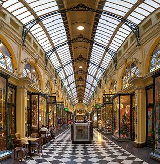 shopping arcade in Melbourne, Australia