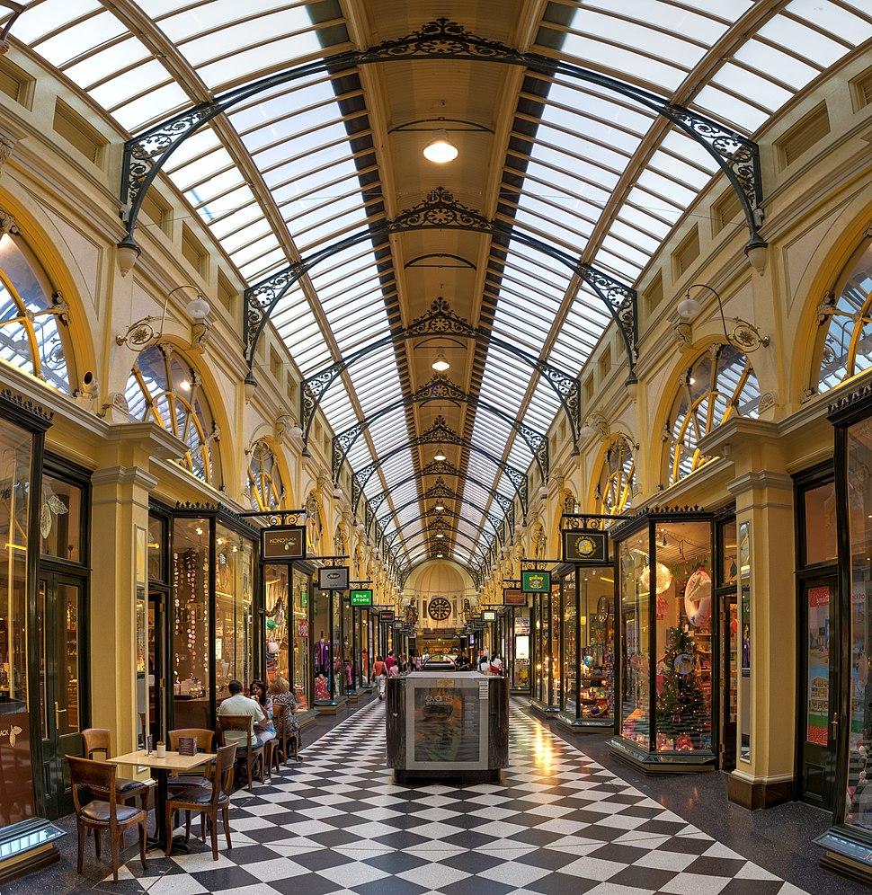 Royal Arcade, Melbourne, Australia - April 2004