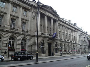 Royal Automobile Club - RAC facilities on Pall Mall, London