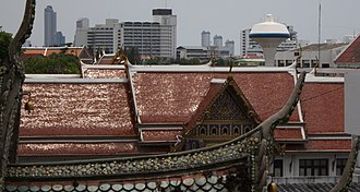 Phra Racha Wang Derm - The roof of the palace.