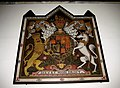 Royal coat-of-arms - St Michael's Church East Coker - geograph.org.uk - 1299427.jpg