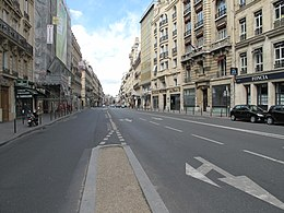 image illustrative de l'article Rue Saint-Lazare (Paris)