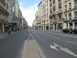 Rue Saint-Lazare - Image: Rue Saint Lazare