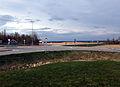 Rundkjøring i krysset mellom Fylkesvei 120 og Fylkesvei 178.JPG