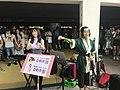 Ruru Lin, Kathie Huang and visitors at FF34 20190727a.jpg