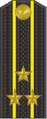 Kapitan of the 1st rank insignia of the Russian Navy