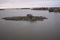 Ryssänsaari Island in front of Helsinki