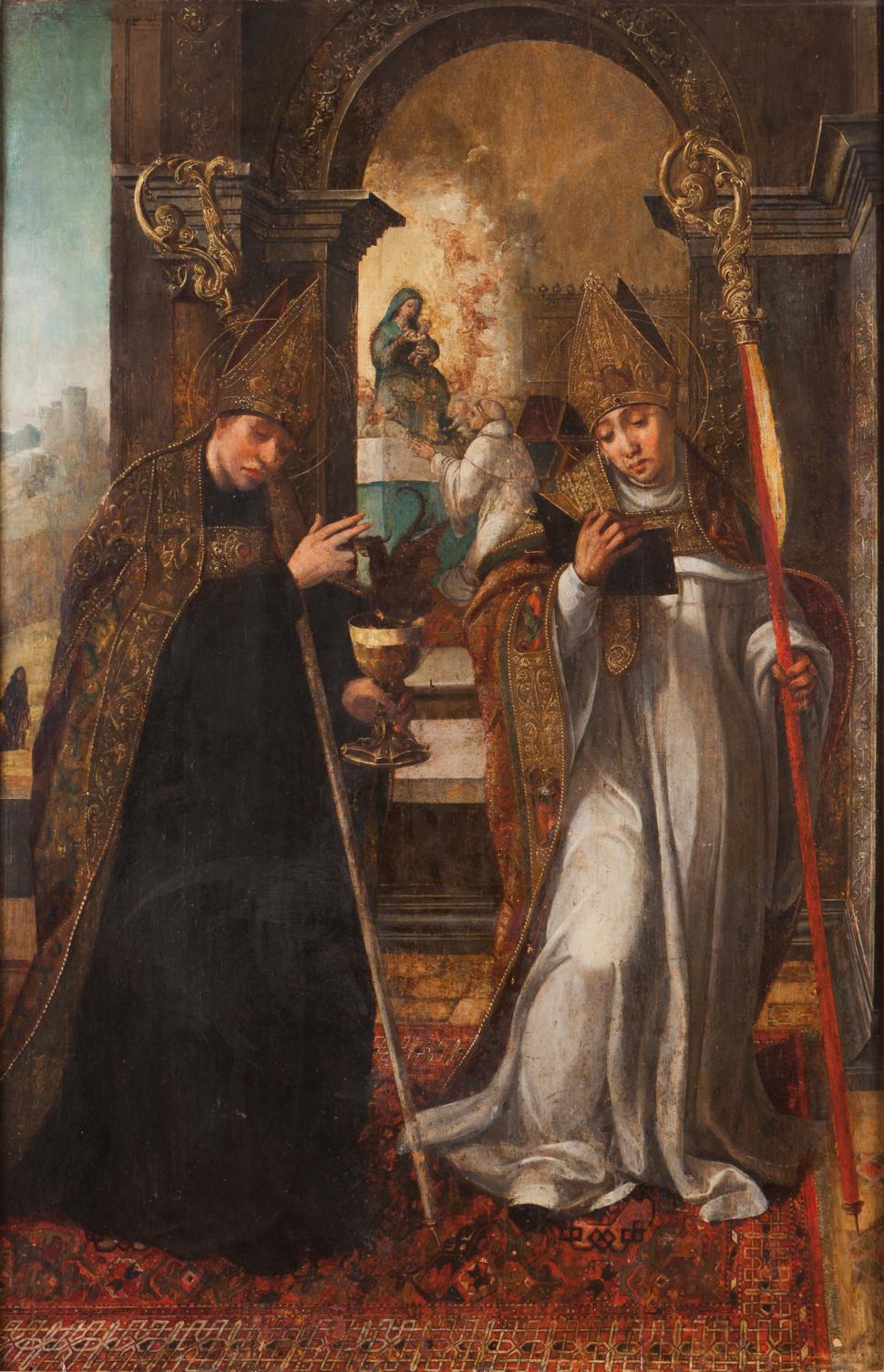 São Bento e São Bernardo (1542) - Diogo de Contreiras