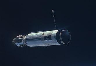 Space rendezvous -  Gemini 8 Agena target vehicle