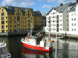 Fishing in Alesund