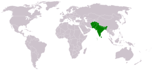 South Asia - Countries under the South Asian Free Trade Area